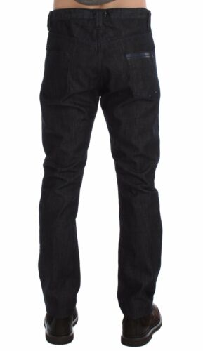 NEW $340 COSTUME NATIONAL C/'N/'C Blue Regular Fit Cotton Denim Jeans W34 IT48