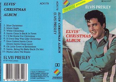 Elvis Presley Elvis Christmas Album.Elvis Presley Elvis Christmas Album Cassette Tape Sirh70 Ebay