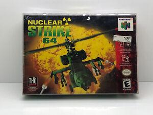 Nuclear Strike 64 (Nintendo 64, 1999)! nuevo!! como Nuevo!