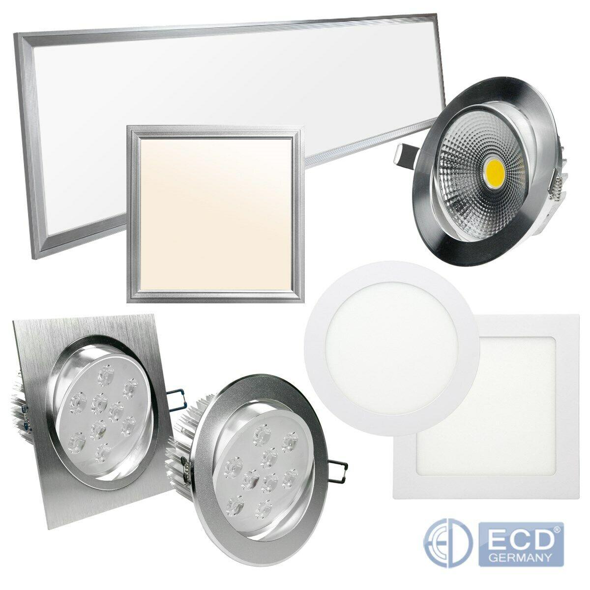 Panel LED emisor de instalación ultra slim plafón lámpara de techo lámpara de parojo lámpara