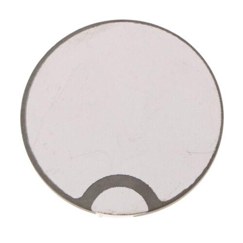 50mm Wandler Piezo Keramikscheiben Wafer Platten Echolot Schallwandler