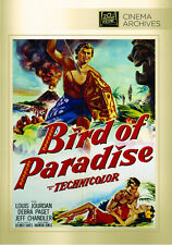 Bird of Paradise 1951 (DVD) Louis Jourdan, Debra Paget, Jeff Chandler - New!
