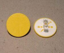 Einlegeschild für Moeller RMQ22 Drucktaster Gelb NEU