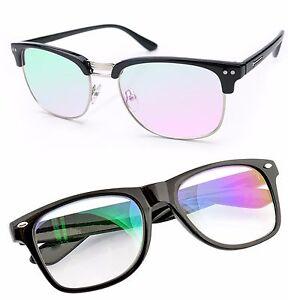 Glasses-Clear-Lens-Anti-Glare-Computer-gaming-TV-Glasses-UV-Anti-Radial-Reflex