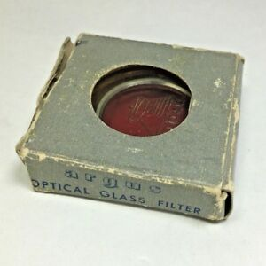 ARGUS-30MM-Drop-In-Red-Optical-Glass-Metal-Filter-Vtg