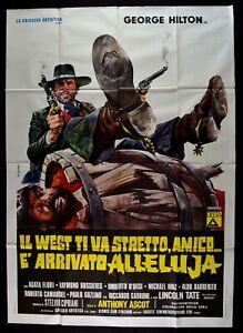 Poster Die West Ti VA Tight Freund E' Eingetroffen Halleluja George Hilton M51
