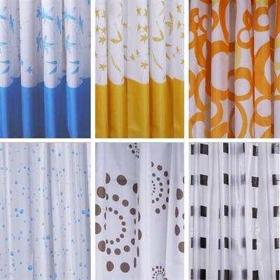 Textil Duschvorhang Badewannenvorhang Anti-Schimmel Vorhang inkl Ringe Delphin