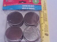 Tin Storage Containers 4 Pk W/lids - Arts/crafts Beads Buttons Small Containers