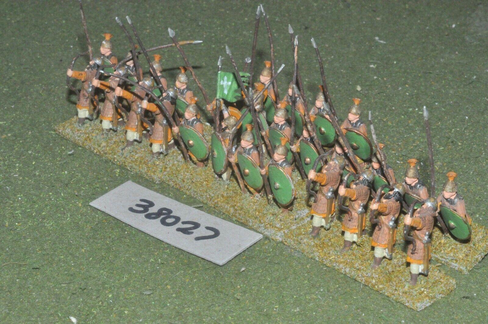 25mm edades Oscuro grupo de batalla bizantino - 28 figuras-INF (38027)