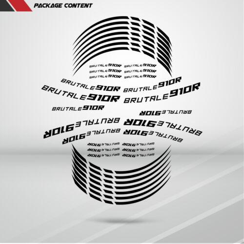 Motorcycle Rim Wheel Decal Accessory Sticker for MV Agusta Brutale 910R