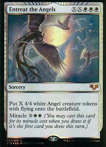 Entreat-the-Angels-FOIL-NM-FtV-Angels-Magic-MTG
