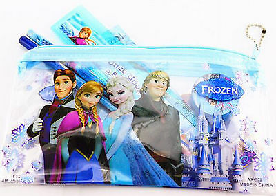 New Kids Frozen Stationery Set pencil set School Supply Party Gifts