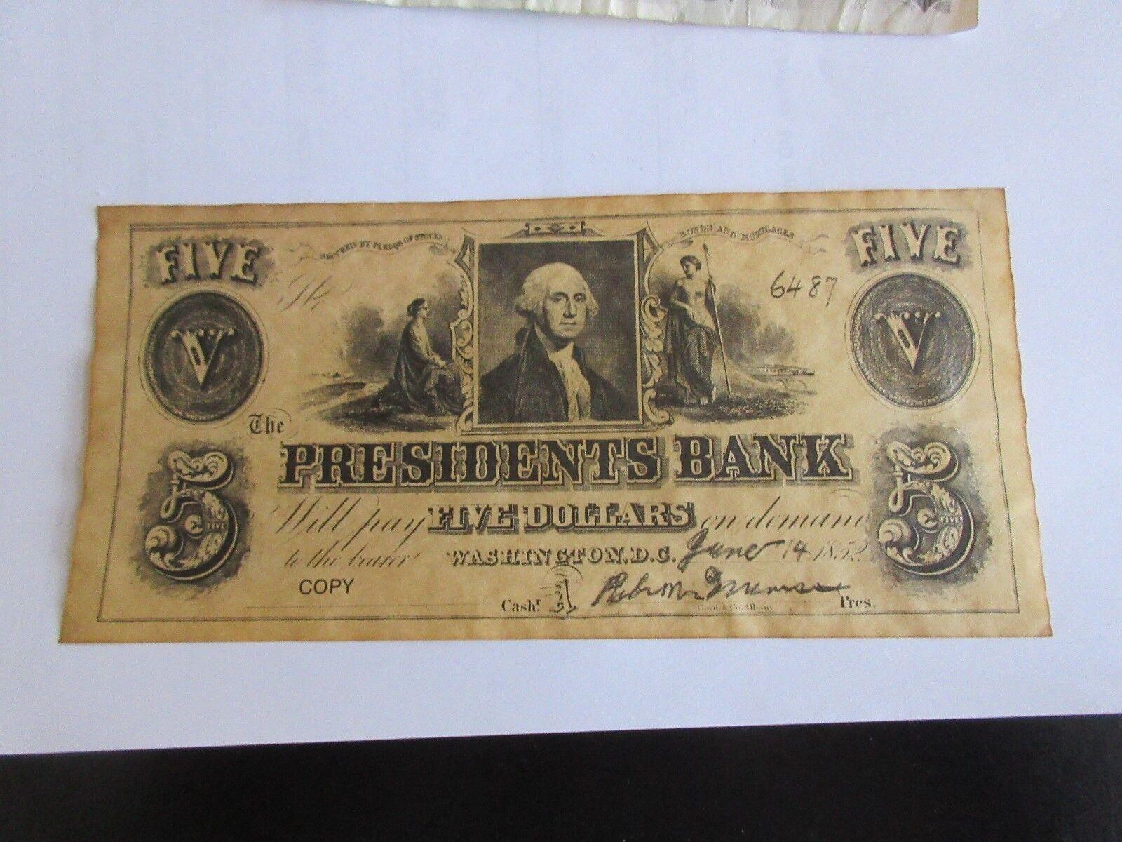 BANK OF ENGLAND - 1990 FIVE POUNDS , Circulated , Presi