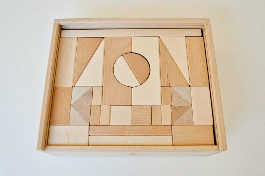 ALBISBRUNN - Kit costruzioni 49 pezzi
