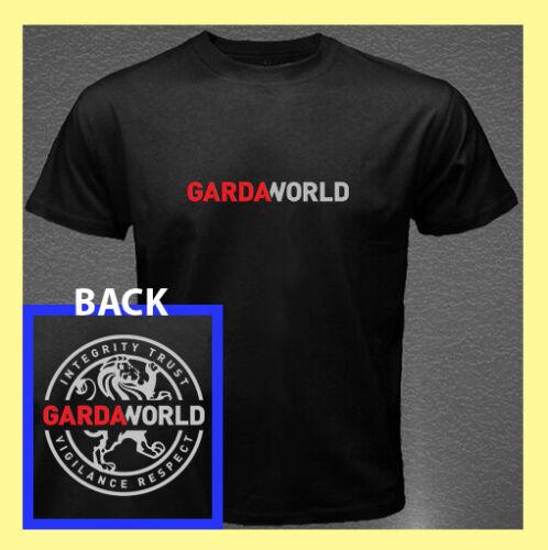 GardaWorld Logo Security Services Emblem 2 Sides Men/'s T-Shirt S M L XL 2XL