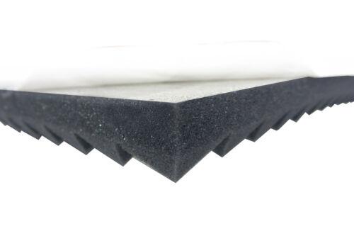 Pyramiden Schaumstoff SELBSTKLEBEND TYP 100x100x3 Schall Schutz Akustik Dämmung