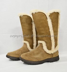 c7d45359a2f Details about NIB UGG Katia Waterproof Boots in Chestnut Brown US Women's  Size 7