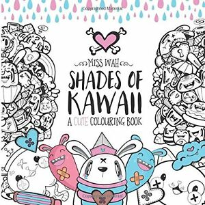 Image Is Loading Anime Manga Japanese Cute Kawaii Adult Colouring Book