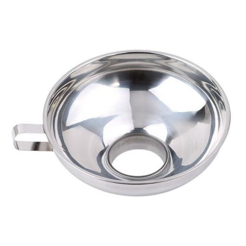 Home Kitchen S//L Stainless Steel Funnel For Most Kinds Of Hip Flasks Q