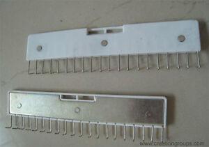 2 Pin Tipo Lungo Artiglio Peso pizzo Artiglio Peso largo staffa per BROTHER SILVER REED