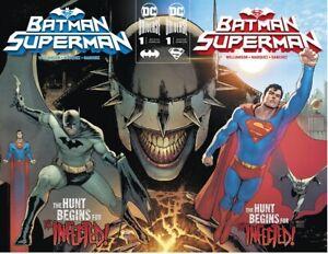 Batman-Superman-1-A-B-Connecting-Covers-1st-App-Dark-Shazam-DC-Comic-2019-NM