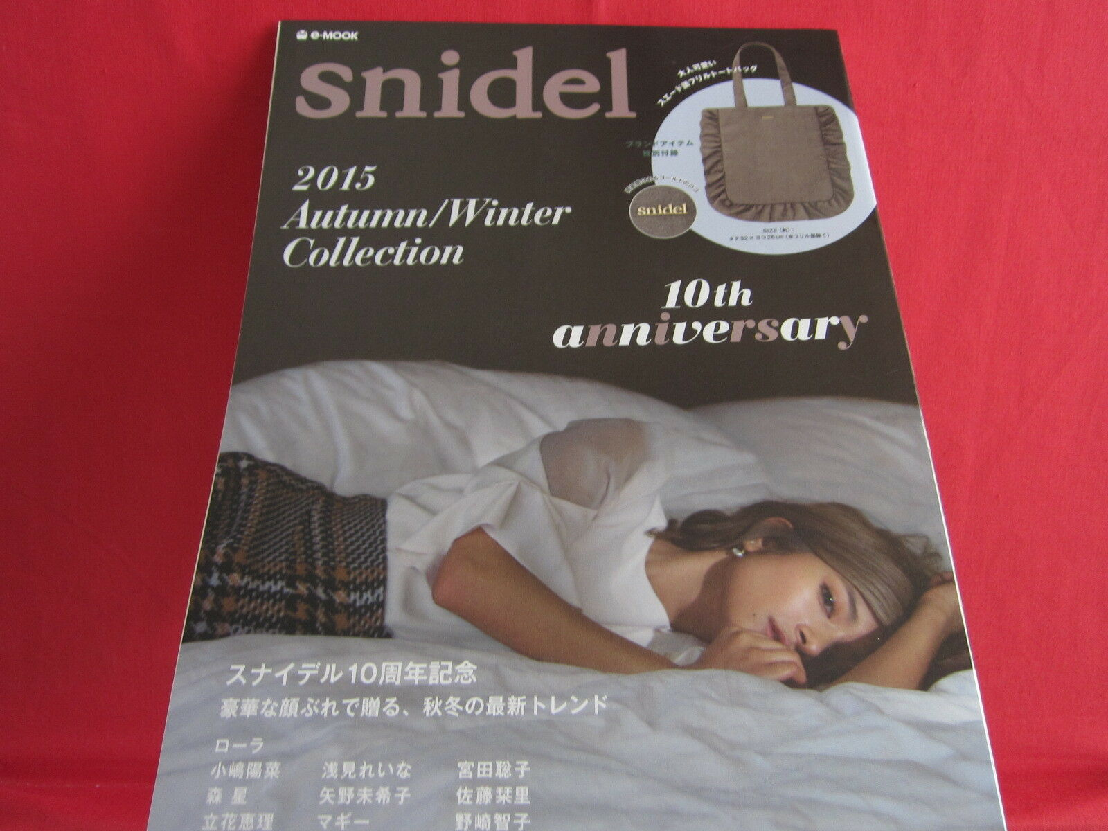 Snidel 2015 Autumn Winter Collection Book w Extra