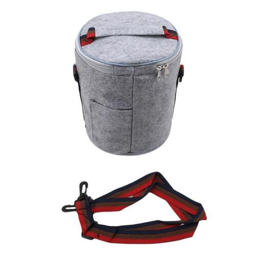 NEW Insulated Thermal Cooler Bento Bag Lunch Box Picnic Bag Portable HOT 6L