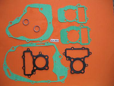 Gaskets Kit Yamaha XV 250 Cylinder Up & Below Gasket Crankcase Camshaft O-Rings