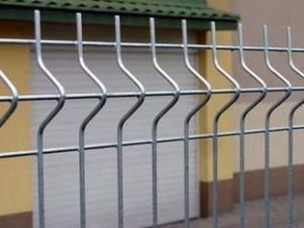 Stabgitterzaun Gittermattenzaun Gartenzaun mit Pfosten usw 30m 173cm Hoch 3D 5mm