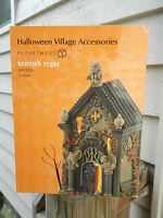 DEPT 56 HALLOWEEN VILLAGE Accessories HAUNTED CRYPT NIB *Lighted Accessory*