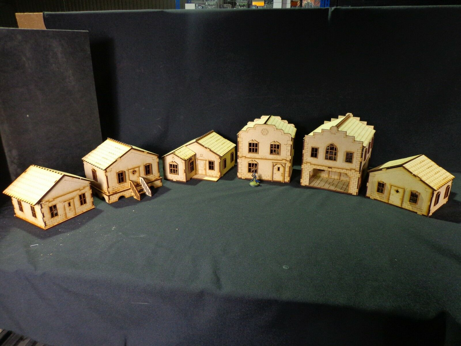 TTCombat - Old Town Scenics - 6 Houses - Great for Malifaux