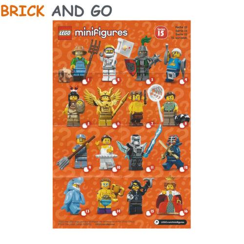 LEGO Minifig Figurine Minifigure 71011 Série 15 Series 15 Complete NEUF NEW