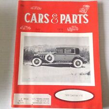 Cars & Parts Magazine 1930 Cadillac V16 July 1976 052117nonrh