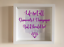 IKEA-RIBBA-Box-Frame-Personalised-Vinyl-Wall-Art-Quote-Life-isnt-all-about thumbnail 10