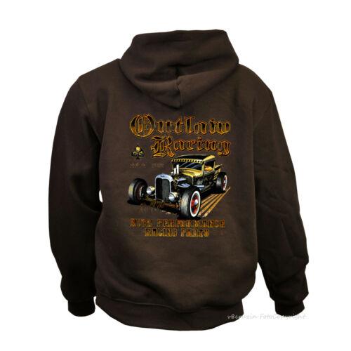 1012 Hot Street Rod Sweatshirt vintage garage scène US-CAR Automotiv Hoodie
