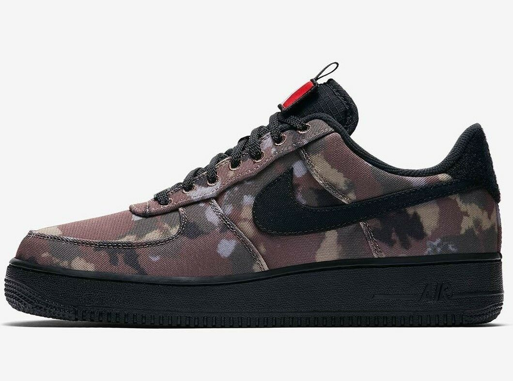 Nike Air Force 1'07 bassa ITALIA Camo-Marroneee Nero verde-AV7012 200-