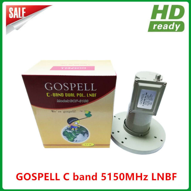 Hot sales C band dual polarity Single Output LNB with Input 3.4-4.2GHz 17K Noise
