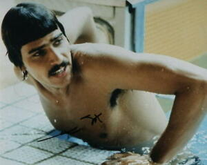 Signed 8 x 10 photograph of Mark Spitz 7 Time USA Olympic Gold Medalist PSA DNA