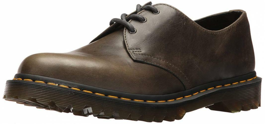 Dr. Martens Men's 1461 Dark Taupe Oxford