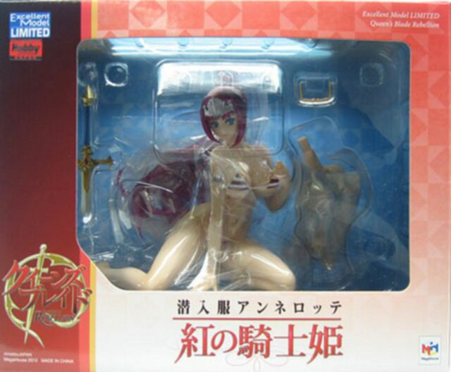 New Megahouse Excellent Model Queens Blade Annelotte Red Knight Princess PAINTED