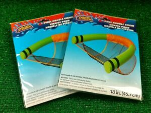 "colors May Vary Lot Of 2 Splash-n-swim 18"" Pool Noodle Chairs W/o Noodle Am2"