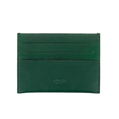 Nuvola Pelle Porta Carte Di Credito Pelle Verde Uomo Donna A 6 Tasche Tessere