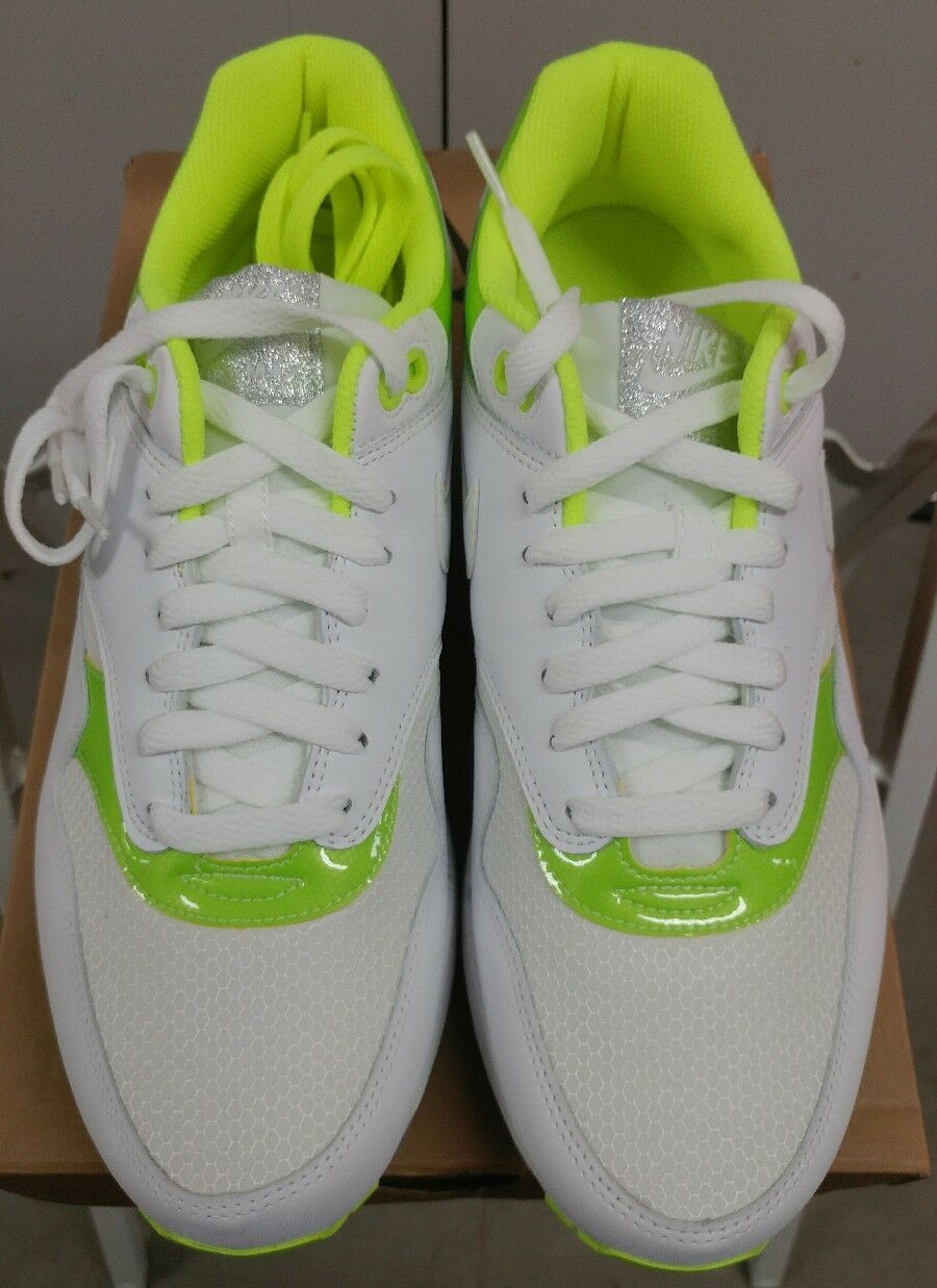 c08fef2caf Nike Air Max 1 Sz 15 Apollo Lunar Pack 308866-114 Volt Limited Classic NSW