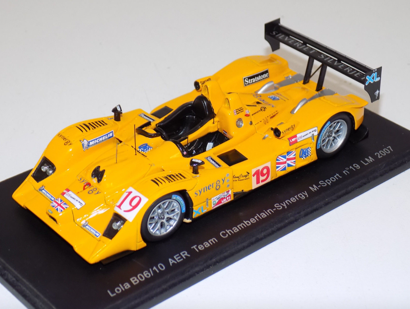 1/43 Spark Lola B06/10 AER equipo Chamberlain sinergia 19 24 horas lemans S0240