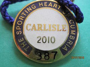 Carlisle-Horse-Racing-Members-Badge-2010-VGC