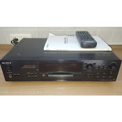 Sony MDS-JB730 Minidisc Recorder, Minidisk Player mit Fernbedienung & Anleitung