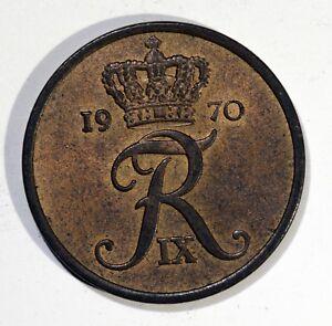 PIECE-Denmark-Frederik-IX-5-ore-1970-Copenhagen-Bronze-KM-848-1-AM08