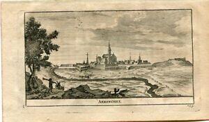 Portugal-Arronches-Engraved-1715-By-Alvarez-Of-Colmenar