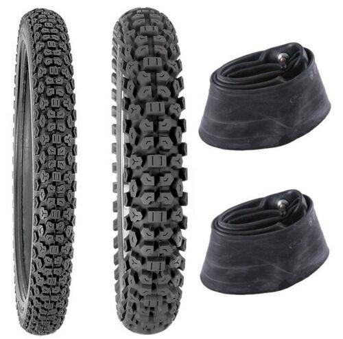 Kenda 2.75-21 /& 4.10-18 K270 Tires /& Tubes XL125S,XL185S,XL200R,KL250G,TS125//185