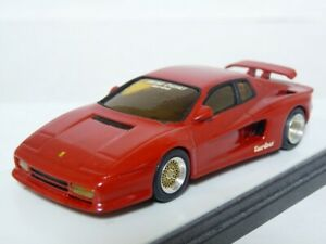 Speed-1-43-Ferrari-Testarossa-Koenig-Turbo-Handmade-Resin-Model-Car